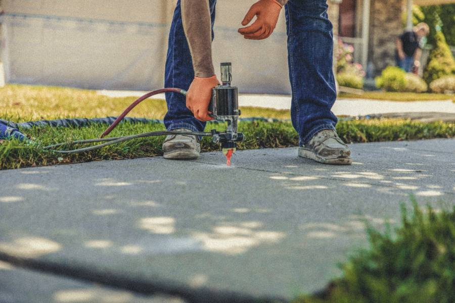 sidewalk concrete repair in your city