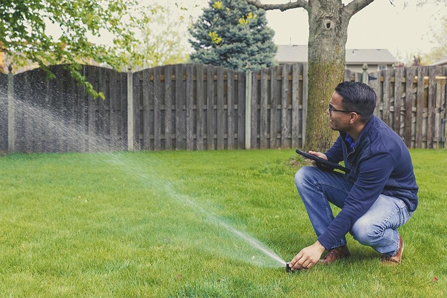 Irrigation and sprinkler system